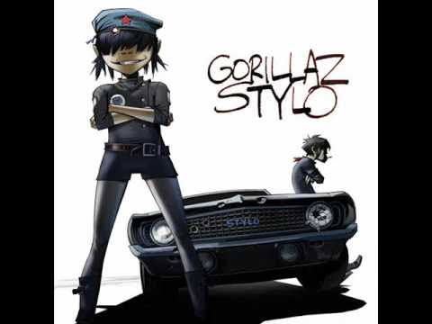Gorillaz  - Stylo [Single] Feat. Bobby Womack & Mos Def (2010)