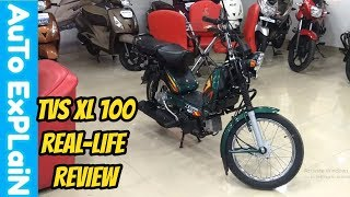 TVS XL 100 Real-life Review-