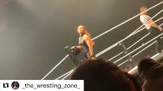 WWE Becky Lynch vs Lacey Evans at live show