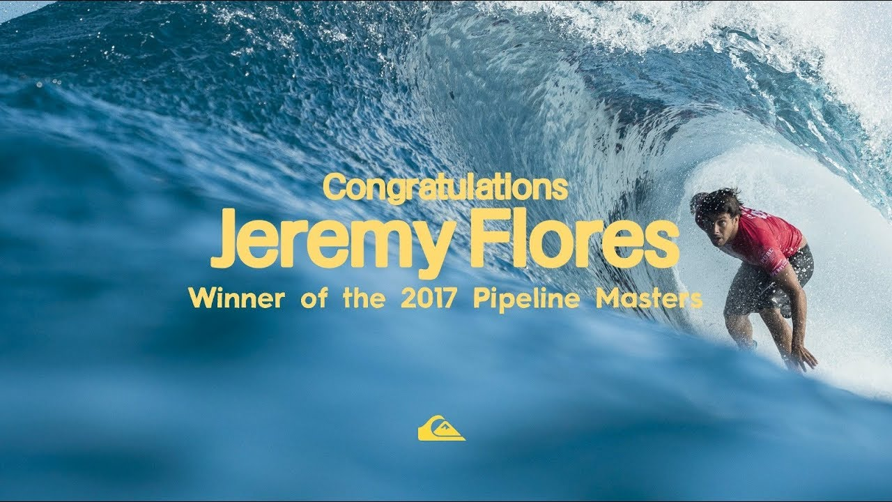 2017 Pipeline Master: Jeremy Flores
