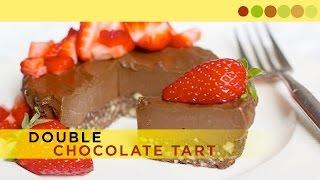 Delicious Double Chocolate Tart | Dessert Recipe | Chef Atul Kochhar