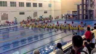 2015總統盃男子50公尺自由式決賽Taiwan 50 meter freestyle men