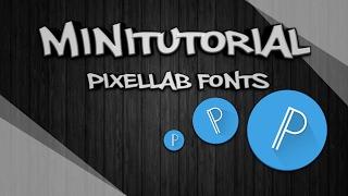 Styly písma-fonty do PixelLab