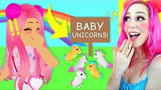 How to Get the *NEW* BABY UNICORN Pet in Adopt Me! Roblox Adopt Me