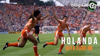 HOLANDA - UEFA EURO 88 ✯ I #ESPECIALEUROCOPA