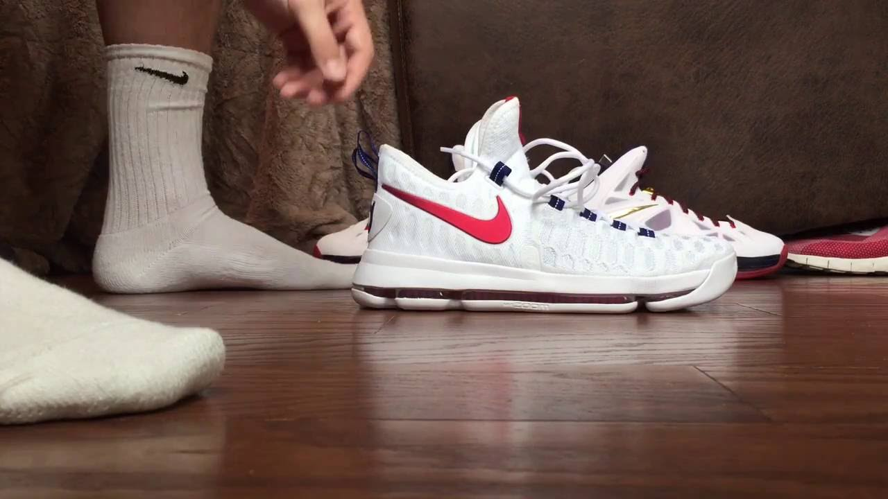 KD9 USA Impossible to get on your foot! - YouTube c081deeb5