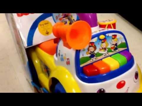 "FISHER PRICE ""Little People Music Parade"" Toddler Ride On Vehicle Learning Toy / Toy Review"