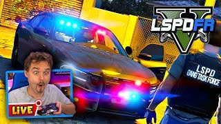 GTA 5 LSPDFR GANG UNIT PATROL in an Unmarked Dodge Charger | GTA 5 LSPDFR Police Mod Roleplay