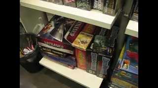 Магазин настольных игр в Риме(Посещение магазина настольных игр