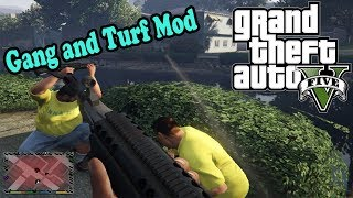 GTA 5 моды - Gang and Turf Mod