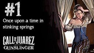 Call Of Juarez Gunslinger Walkthrough - Part 1 Mission 1 Gameplay (HD)