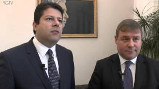 YGTV Gibraltar News Update: UK Armed Forces Minister Visits Chief Minister