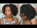 The Perfect Braidout | Heatless Curls Overnight| Natural & Transitioning Hair | Felicia Braids