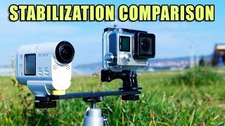 GoPro Hero 4 vs Sony AS100V [Stabilization Comparison]