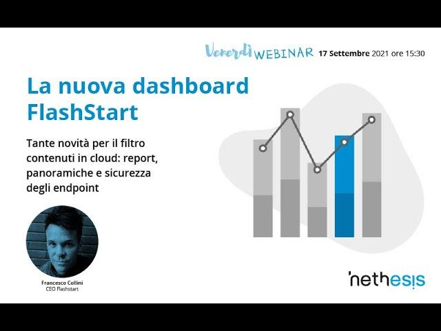 La nuova dashboard di FlashStart