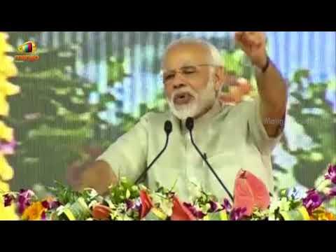PM Modi Speech Laid Foundation Stone of Greenfield Airport at Rajkot, Gujarat | Mango News