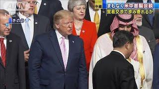 まもなく米中首脳会談 貿易交渉で歩み寄りは(19/06/29)