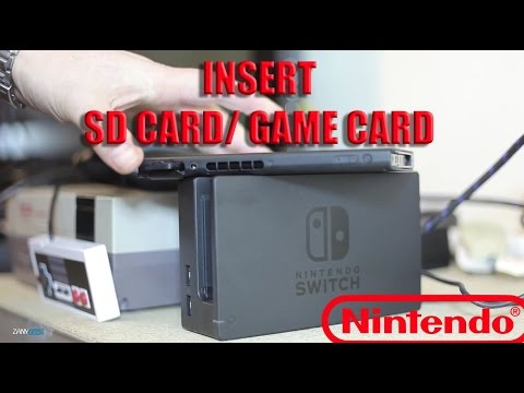 Switch Sd Karte Einlegen.How To Insert Micro Sd Card And Game Card Nintendo Switch Tutorial Zanygeek