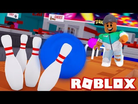 BUILDING MY OWN BOWLING ALLEY IN ROBLOX