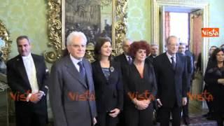 MATTARELLA PRESIDENTE - LA COMUNICAZIONE DELLA BOLDRINI - Nuovo Capo dello Stato