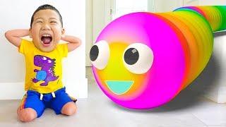 Pelajari warna-warna dengan warna permen karet dan balon hewan  👍