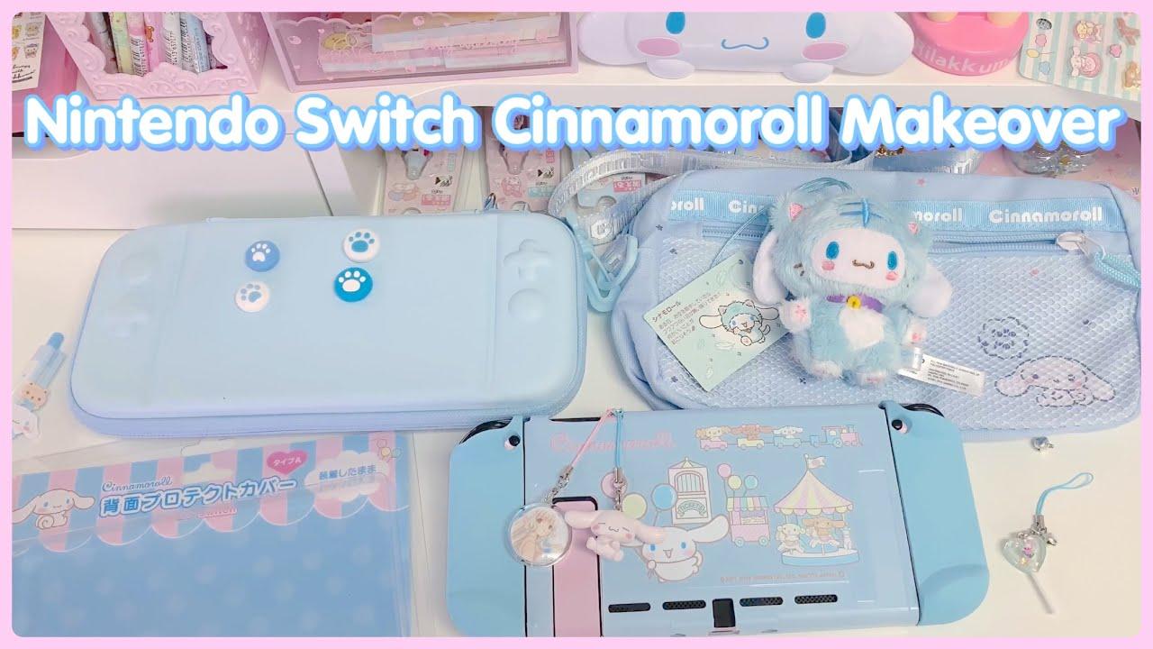 Nintendo Switch Custom Makeover - Kawaii Cinnamoroll Theme