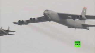 """أمريكا ترسل طائرة """"بي-52"""" الاستراتيجية إلى كوريا الجنوبية (فيديو)"""