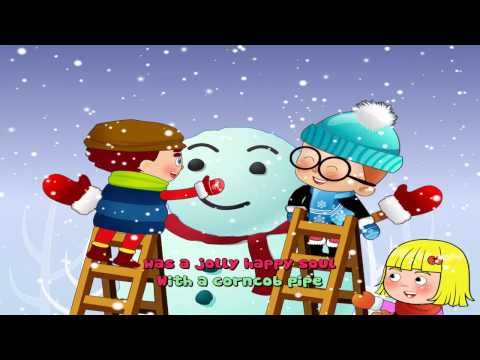 Frosty The Snowman Lyrics | Christmas Song 2016 With Lyrics And Action