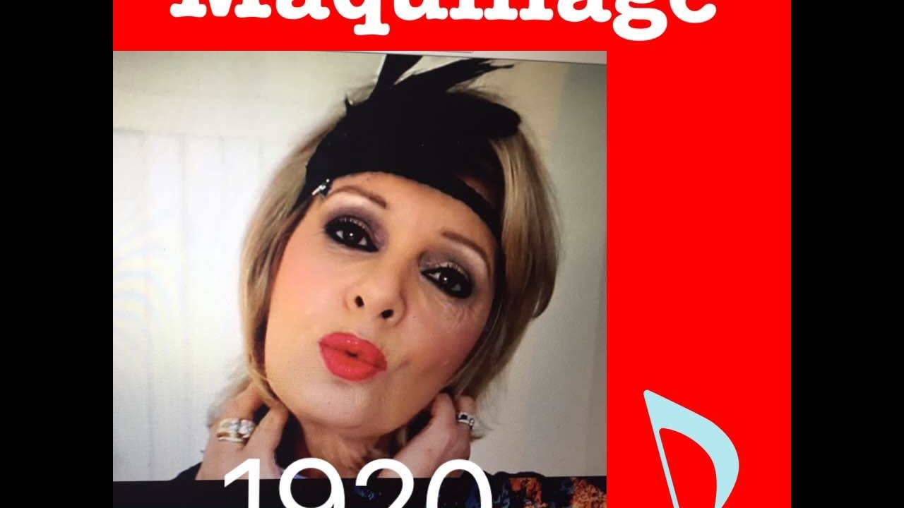 Tutoriel  Maquillage des années folles 1920
