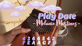 Melanie Martinez - Play Date Kalimba Cover w/ Easy Tabs   Pai C Resimi