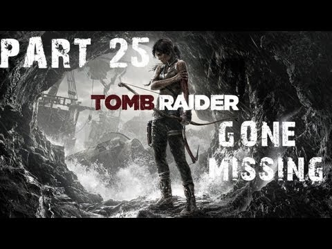 Tomb Raider 2013 PC Walkthrough HD RO Gone Missing Compound Bow Hard Difficulty P25