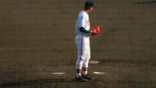 春季千葉県高等学校野球大会 vs 中央学院高校 この日の最速は141キロ。