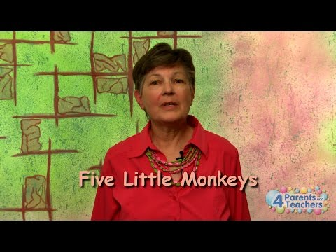 "Learn to Sign ""Five Little Monkeys"" 