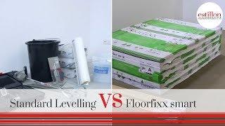Nat egaliseren of Floorfixx Smart droge ondervloer