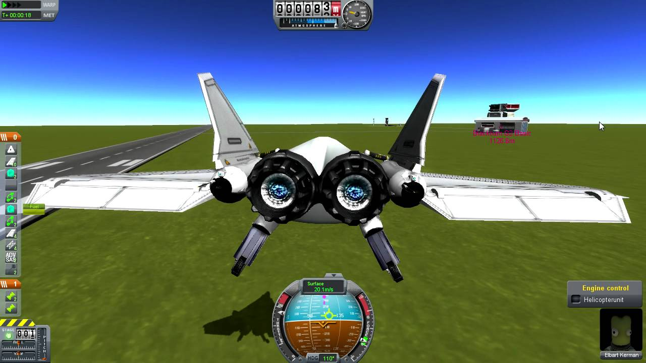 KSP - Blackburn VTOL Jet - YouTube