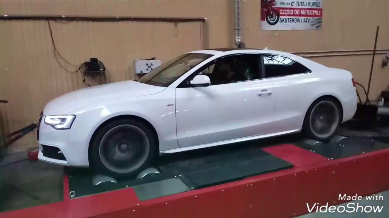 Chip Tuning Na Gwarancji Audi A5 30 Tdi 245 At 275 Ladyga Krakow