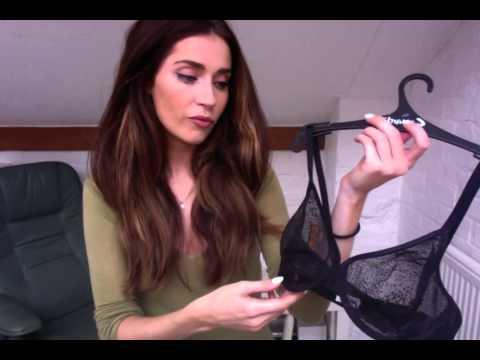 Kate reviews Gossard Glossies Animal Print Vlog #4