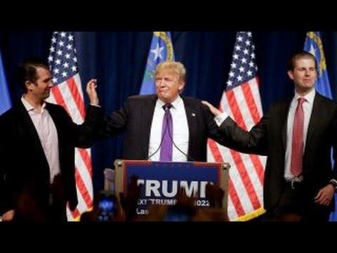 Donald Trump on his win in Nevada