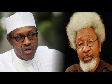 BIAFRA VS NIGERIA NEWS: PROF. SOYINKA WARNS NIGERIA PRESIDENT BUHARI TO TREAD WITH CAUTION. WATCHOUT