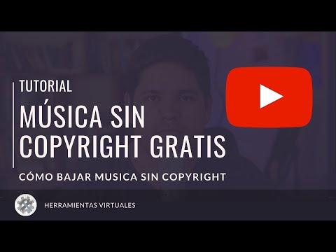 Descargar MÚSICA sin Copyright GRATIS | Tutorial YouTube