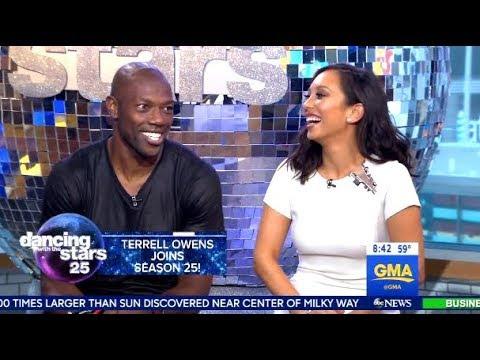 Terrell Owens Is Cheryl Burkes Partner DWTS25  GMA