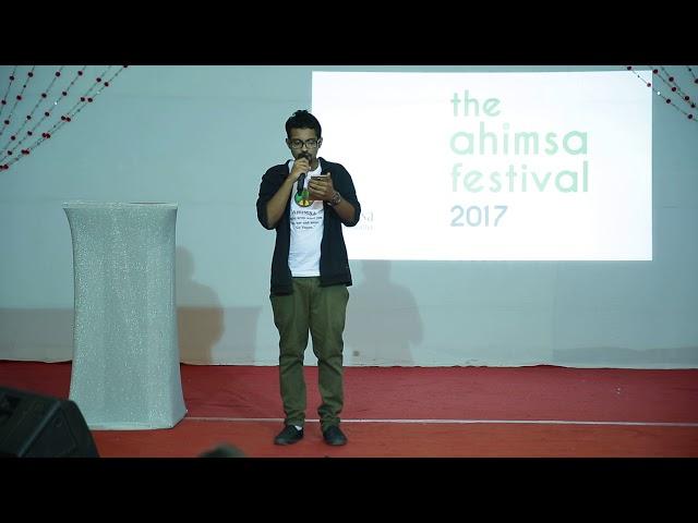 Dhruv Rupani's First Poem On Ahimsa