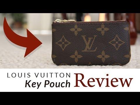 61d0429fe753 Louis Vuitton Key Pouch Review - YouTube