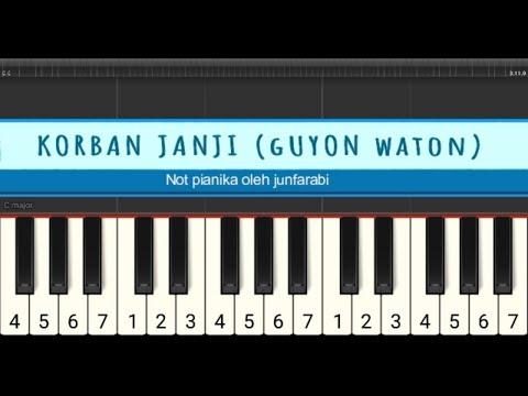 Korban Janji Guyon Waton Not Pianika Youtube