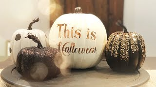 DIY Halloween Pumpkins With the Cricut