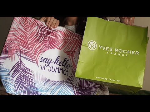 مشترياتي من ايف روشيه Yves Rocher видео
