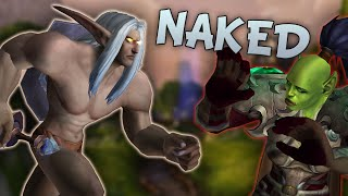 NAKED AND NOT AFRAID - WoW Legion Beta Prot Warrior PvP Gameplay