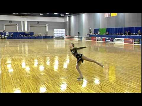 2013 Artistic Roller Skating National Championships...JWC women freeskating (Courtney Kennedy)