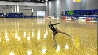 2013 Artistic Roller Skating National Championships...JWC women freeskating (Courtney Kennedy)
