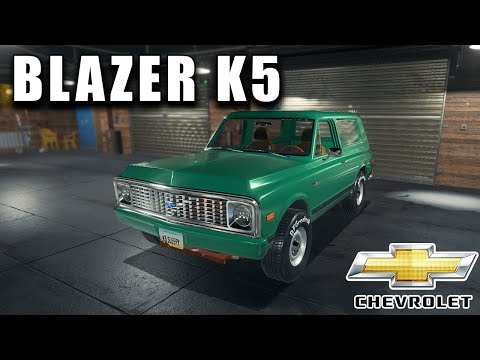 OLD CHEVROLET BLAZER K5 RESTORATION | Car Mechanic Simulator 2018